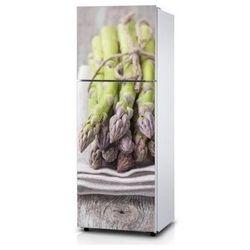 Naklejka na lodówkę - Zawiązane pędy - Naklejka laminowana