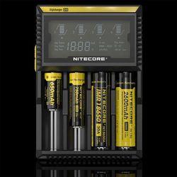 ładowarka do akumulatorów cylindrycznych Li-ion, LiFePo4, Ni-MH Nitecore Digicharger D4