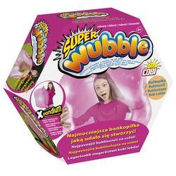 Super Wubble, bańkopiłka bez pompki, różowa Darmowa dostawa do sklepów SMYK