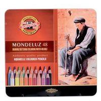 Koh-I-Noor, Kredki akwarelowe Mondeluz w metalowej kasecie, 48 kolorów Darmowa dostawa do sklepów SMYK
