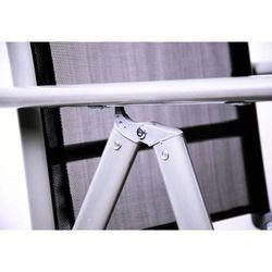 Rovens.pl Krzesło składane ogrodowe kempingowe aluminiowe