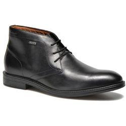 Buty sznurowane Clarks Chilver Hi GTX Męskie Czarne Dostawa 2 do 3 dni