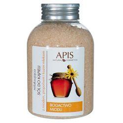 APIS H&S Relaksująca sól do kąpieli z miodem, propolisem i kozim mlekiem, 650 g