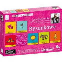 Edukacyjne memory językowe rysunkowe