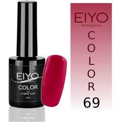 Lakier hybrydowy EIYO Confident - kolor nr 69 - Róż z Czerwienią - 15 ml Lakiery hybrydowe