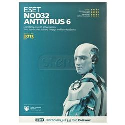 Oprogramowanie antywirusowe ESET NOD32 ANTIVIRUS UPGRADE - 3 STAN/12M - 5907758062739