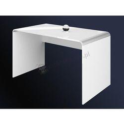 Biurko białe wysoki połysk Murano 100