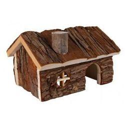 Drewniany domek dla gryzoni Hendrik Rozmiar:20 × 13 × 13 cm