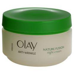 Olay Anti-Wrinkle Nature Fusion odmładzający krem na noc do twarzy i szyi + do każdego zamówienia upominek.