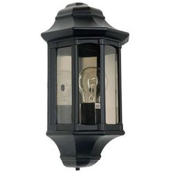 Zewnętrzna LAMPA ścienna NEWBURY GZH/NB7 Elstead kinkiet OPRAWA ogrodowa IP44 outdoor czarny
