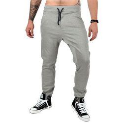 Spodnie dresowe męskie - szare (NM 6806)