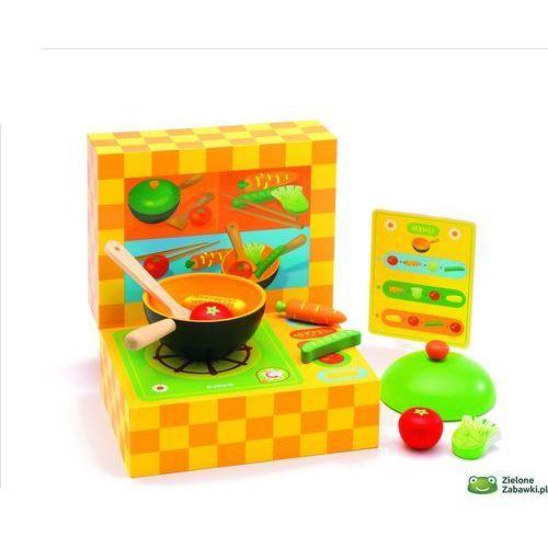 Wok Zabawa W Gotowanie Dj06549 Djeco Mała Kuchnia Dla