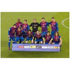 Fototapeta BARCELONA - 25 stycznia: gracze Barcelona pozowanie do zdjęć przed meczem Pucharu Hiszpanii pomiędzy FC Barcelona
