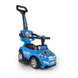 Milly Mally, Happy, jeździk, niebieski Darmowa dostawa do sklepów SMYK