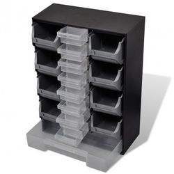 Organizer z 17 szufladami na narzędzia garażowe Zapisz się do naszego Newslettera i odbierz voucher 20 PLN na zakupy w VidaXL!
