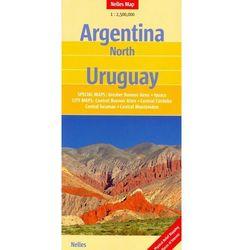 Argentyna Północna i Urugwaj. Mapa turystyczno-drogowa. Nelles (opr. twarda)