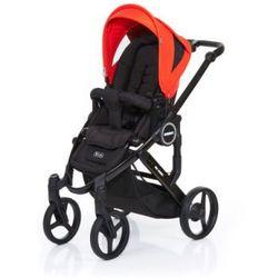 ABC DESIGN Wózek dziecięcy Mamba plus black-flame, stelaż black/ siedzisko black