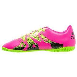adidas Performance X 15.4 IN Halówki shock pink/solar green/core black