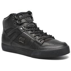 Buty sportowe DC Shoes Spartan Hi WC SE Męskie Czarne Dostawa 2 do 3 dni