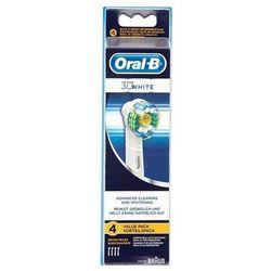 ORAL-B 4szt EB18 3D White Końcówki do szczoteczki elektrycznej