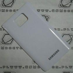 Obudowa Samsung I9100 Galaxy S2 SII tylna / pokrywa baterii biała