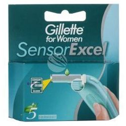 Gillette Sensor Excel (W) wkład do maszynki do golenia 5szt
