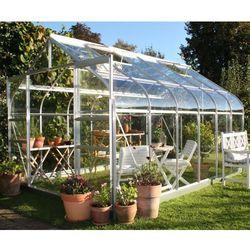 Szklarnia ogrodowa Halls Supreme Silver 2,55 x 3,83 m szkło aluminium