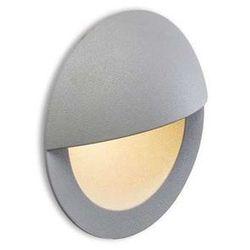 Zewnętrzna LAMPA ścienna ASTERIA R10558 Redlux metalowa OPRAWA elewacyjna LED IP54 outdoor srebrnoszary