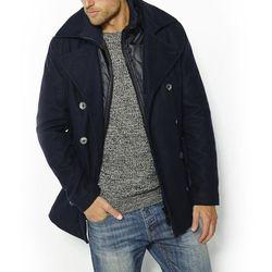 Krótka marynarska kurtka z sukna wełnianego