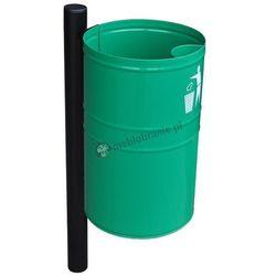 Uliczny kosz na śmieci metalowy KB 1