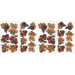 Naklejki dekoracyjne - Jesienne owoce - 4 arkusze, 26 szt. Roommates