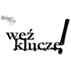 Wieszaki na klucze Weź klucze, czarny połysk by Briso-desing