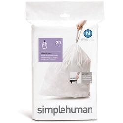 Simplehuman - Worki na śmieci 45L rozm. N - 20 szt