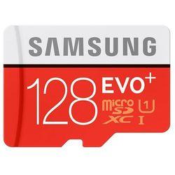 Karta SAMSUNG microSDXC 128 GB + adapter SD