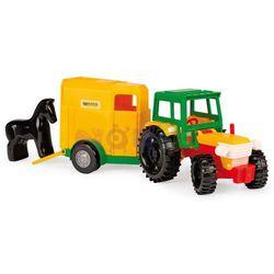 Traktor z przyczepą na konie Color Cars Wader
