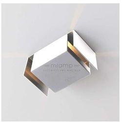 Kinkiet LAMPA ścienna IRUMA 405/H-PING9/BI Shilo metalowa OPRAWA minimalistyczna IP20 biały