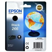 Epson oryginalny ink C13T26614010, 266, black, 5,8ml, Epson WF-100W