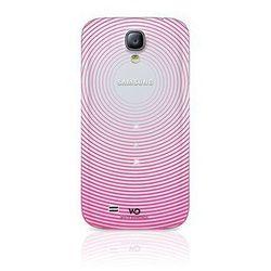 Etui HAMA do Samsung Galaxy S4 White Diamonds Gravity Różowy