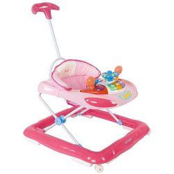 Chodzik kołyska z kierownicą różowy Sun Baby SB-213PRN/1/R