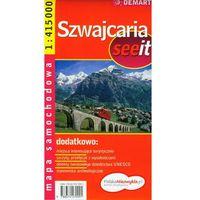 Szwajcaria see it 1:415 000 (opr. miękka)