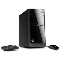Komputer stacjonarny HP 110-210 A6-5200 16G 512GB SSD WIFI W10 DVD-RW + klawiatura, mysz