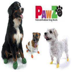 PAWZ buty dla psa z naturalnej gumy rozm. M 1szt.