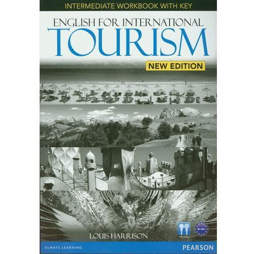 English For International Tourism New Edition Intermediate, Workbook (zeszyt ćwiczeń) with Key plus Audio CD (opr. miękka)