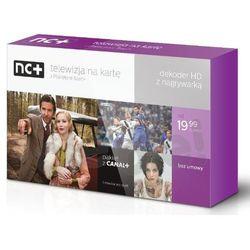 nc+ telewizja na kartę (130 kanałów, 1 m-c na start z Canal+) - dekoder HD 5800SXR