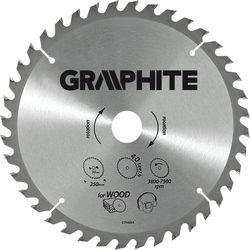 Tarcza do cięcia GRAPHITE 55H611 250 x 30 mm do pilarki widiowa