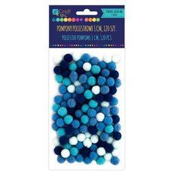 Pompony poliestrowe Dalprint KSPO-030/120szt. - niebieskie
