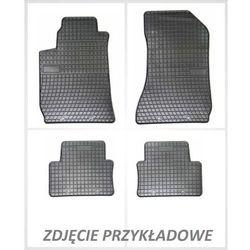 Dywaniki gumowe czarne z kompletem stoperów - Opel Corsa (C) 2000-2006, 5-osobowy