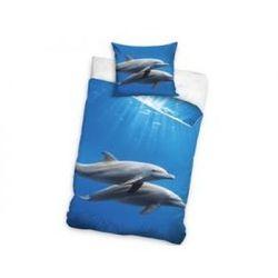 Pościel Dwa Delfiny 160 x 200 cm