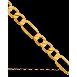 50cm ?łańcuszek złoty typu Figaro