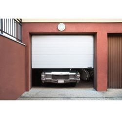 Segmentowa brama garażowa MSW GD3000-0